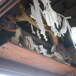 いろは食堂 - ダルマが飾っています