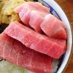 海峡荘 - マグロトッピング丼¥2,500