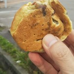 湯谷の焼饅頭 - 19/11 焼き饅頭:110円(税込)