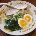 北海道らーめん 壱龍 - 料理写真:函館塩+玉子2019.11.03