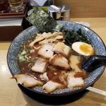 屯ちん - 魚豚ラーメン+チャーシュー。