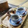 そば処 本家玉屋 - ドリンク写真:大内宿でモーニングコーヒー♪