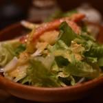 日本橋 鳥久 - 特製サラダ