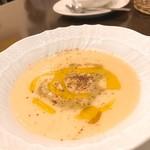 アンブレラ - ジャガイモの温かいミネストラ