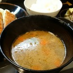 Tonkatsuyamamoto - 定食の豚汁