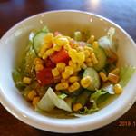 スパゲッ亭 加良 - 料理写真:セットのサラダ