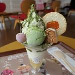 オウ ショウ カフェ - (2019/8月)王将コマパフェ