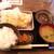 九州うまかめし はかたもん - 料理写真:大分とり天定食@780(抜)