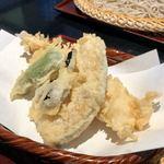 えびな 上野藪そば - 天せいろの天ぷら