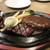 肉の万世 - ステーキ+ハンバーグのセット
