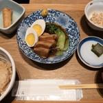 119018097 - 味玉入り豚の角煮定食 1,250円