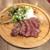 自家製ピッツァ&ステーキ 肉バル ビステッカ - 料理写真:和牛フィレステーキ 150g・グリーンサラダ・ポテトサラダ