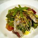 ダンテス - 真鯛のサラダ