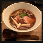 つけ麺 山崎 - 醤油らぁめん 850円