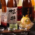 御殿場さくら井家 - ドリンク写真:銘柄日本酒、銘柄焼酎多数。カクテル、ノンアルも充実のラインナップ。