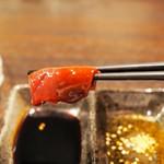 馬肉×ワイン 気まぐれバル 恵比寿 Whim - 極上生レバーと甘口醤油