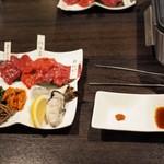 馬肉×ワイン 気まぐれバル 恵比寿 Whim - 焼肉セット