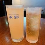 欧風居酒屋 VOUS - 桃酒とジンジャーエール