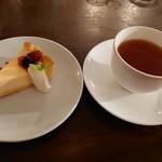 小さな街の食堂 cafe MISTY - チーズケーキ&アールグレイ