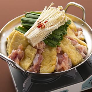 季節問わず大人気!鶏と野菜のうま味が凝縮された鶏白湯鍋!!!