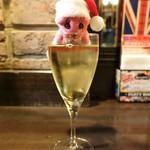 119034523 - 白グラスワイン ¥400