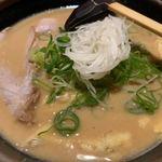 玄屋 - 酒粕拉麺 800円
