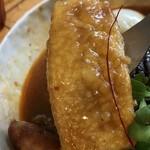 スープカレー トムトムキキル - 揚げ出し豆腐はこんな感じ