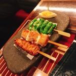男前料理 虎ノ門 はらから hara-kara - 焼き3種