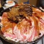 ホルモン鍋 暖 - パワーボム
