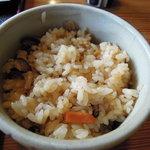 Sobadokoroshinsen - 炊き込みご飯