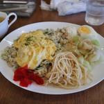 Cafe Baum - 梅としらすの五穀米ピラフ