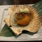 小樽食堂 - 帆立バター
