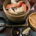 小樽食堂 - 蟹のせいろ蒸し