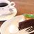 喫茶去かつて - ガトーショコラ。