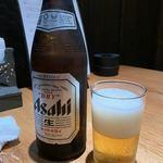 炭火焼肉 牛仁 - ビール・2019/10