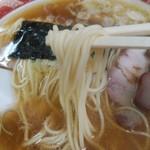 119055541 - 中太のストレート麺を啜るべし