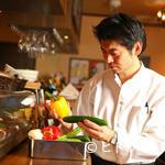 海鮮 イタリアンバル ルチアーノ - その他写真:素材の味わいを活かすイタリアンだからこそ、食材にはこだわりを