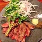 119059790 - ランプ肉ステーキ