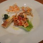 ベルデ - 前菜盛り合わせ4種