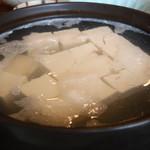 清水 順正 おかべ家 - 湯豆腐