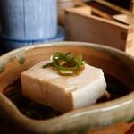 清水 順正 おかべ家 - 湯豆腐アップ
