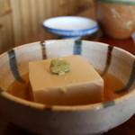 清水 順正 おかべ家 - 胡麻豆腐