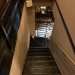 119060673 - 階段で地下へ