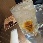 ヤキトリハウス 平安郷 - メガハイボール700円