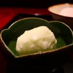 Sakamaruyama - すだちのソルベ