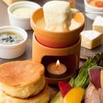 湘南パンケーキ - チーズフォンデュパンケーキ