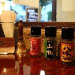 cinq cafe - 卓上調味料