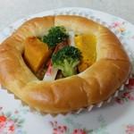 おいしいパン屋さん - 野菜ゴロゴロカレーパン