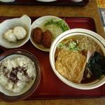 山田うどん - 料理写真:季節のお得セット