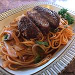 レストランユキノヤ - ミンチカツはフワフワで軽やか